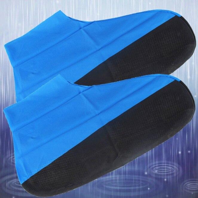 1 Paar Wiederverwendbare Latex Wasserdichte Schuhe Abdeckungen Anti-slip Gummi Stiefel Überschuhe Regendicht Schuh Protector Cases Schuh Zubehör