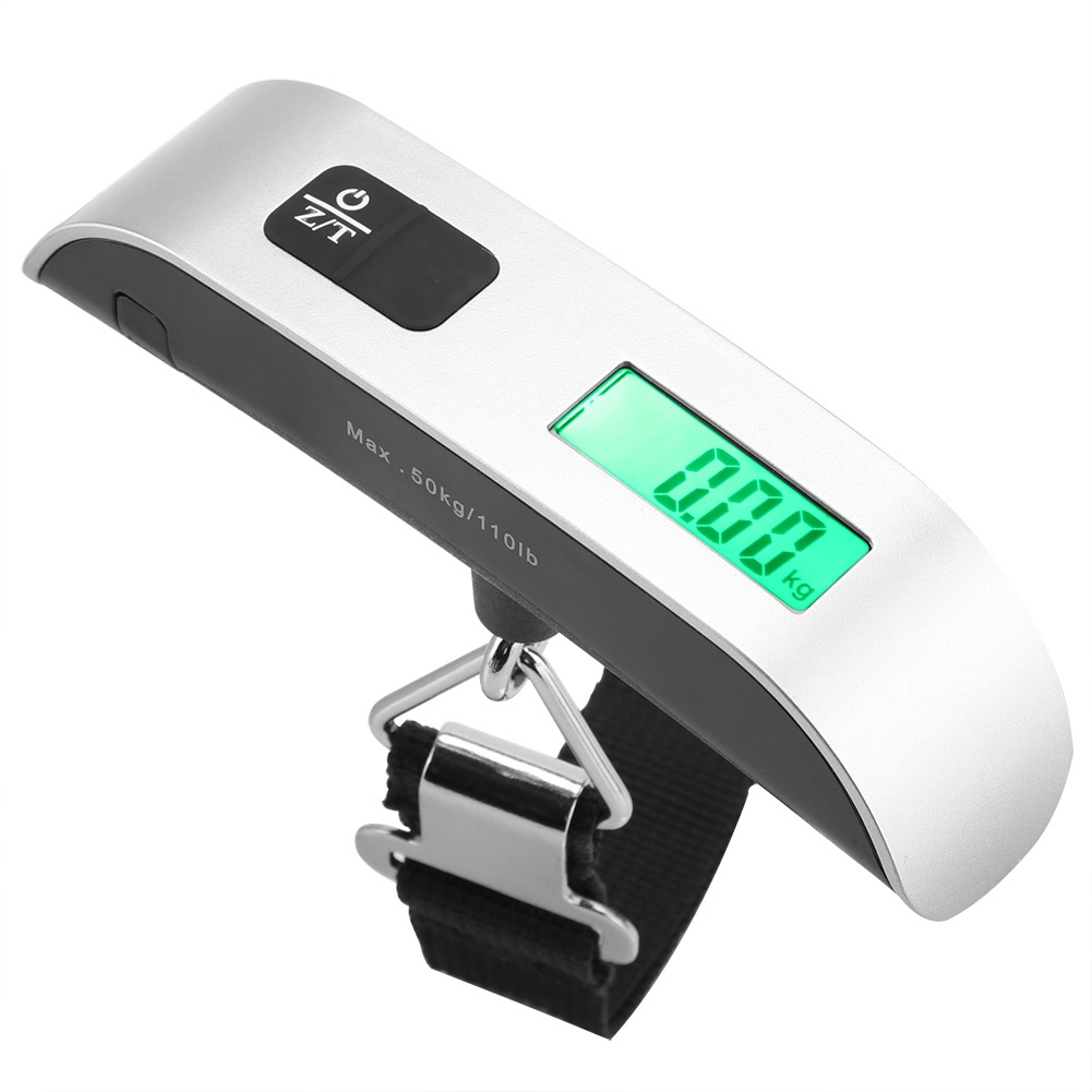 Mini Size LCD Digital Electronic Hanging Scales Portable Hook Weighing Balance . Load 50Kg kitchen appliance parts New(China)