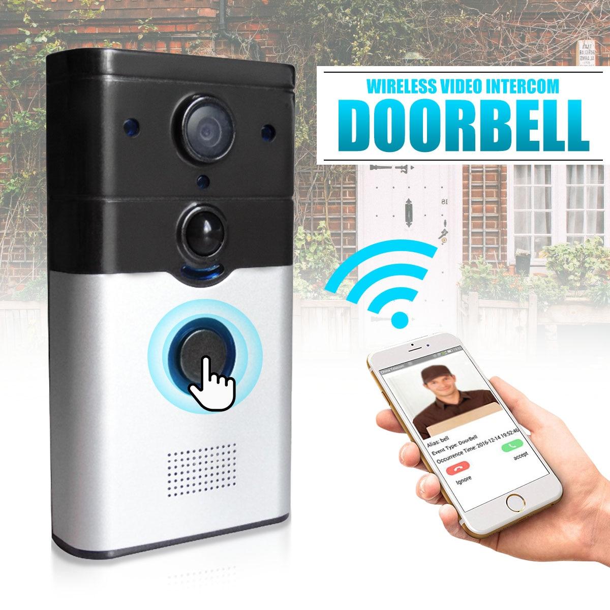 NEW Safurance HD WIFI Wireless Smart Doorbell Camera Video ...