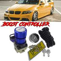 New Aluminum T2 Car Universal Adjustable Boost Controller Turbo Mbc Racing Manual Gauge Turbo Boost Controller Kit 1 150 PSI