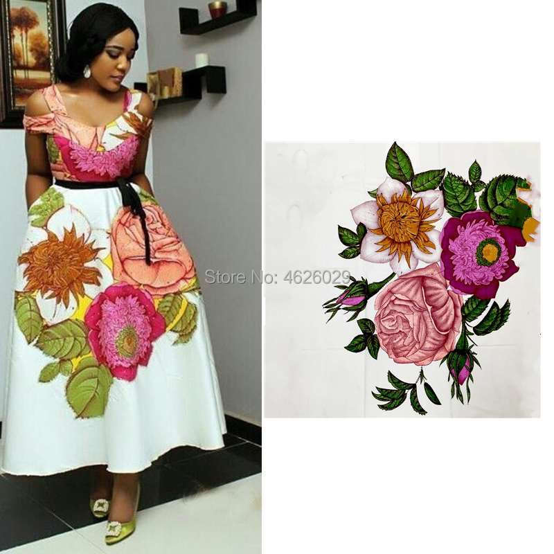 Colorful flower design veritable hitarget pagne 100% cotton african regular real soft wax fabric hollandais for women 6yardsColorful flower design veritable hitarget pagne 100% cotton african regular real soft wax fabric hollandais for women 6yards
