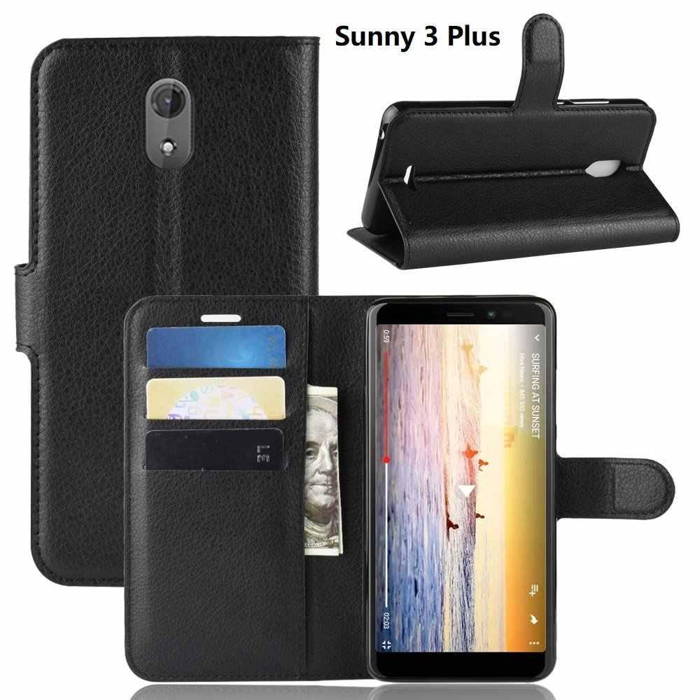 Telefoon Tas Leer voor Wiko Tommy 3 Sunny 4 Plus Lenny 5 View Lite Max GAAN Prime XL Harry 2 jerry 4 Y60 Y80 Wallet Case Flip Cover