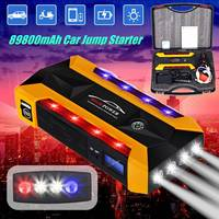 High Capacity Starting Device Booster 600A 12V 4USB Portable Car Jump Starter Power Bank Car Starter For Car Battery Charger