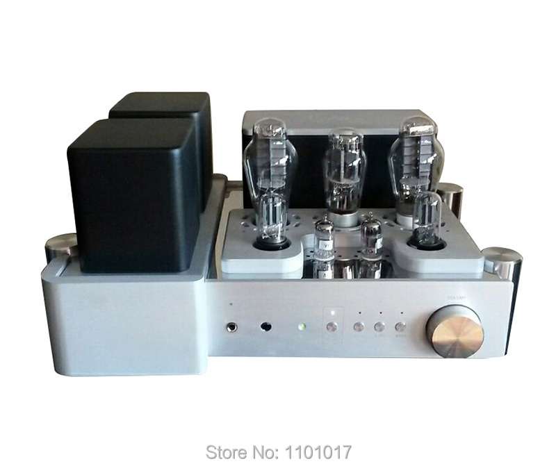 Yaqin MC-300C 300B Tube Amplifier HIFI EXQUIS Single-Ended Class A Integreated Lamp Amp with Remote