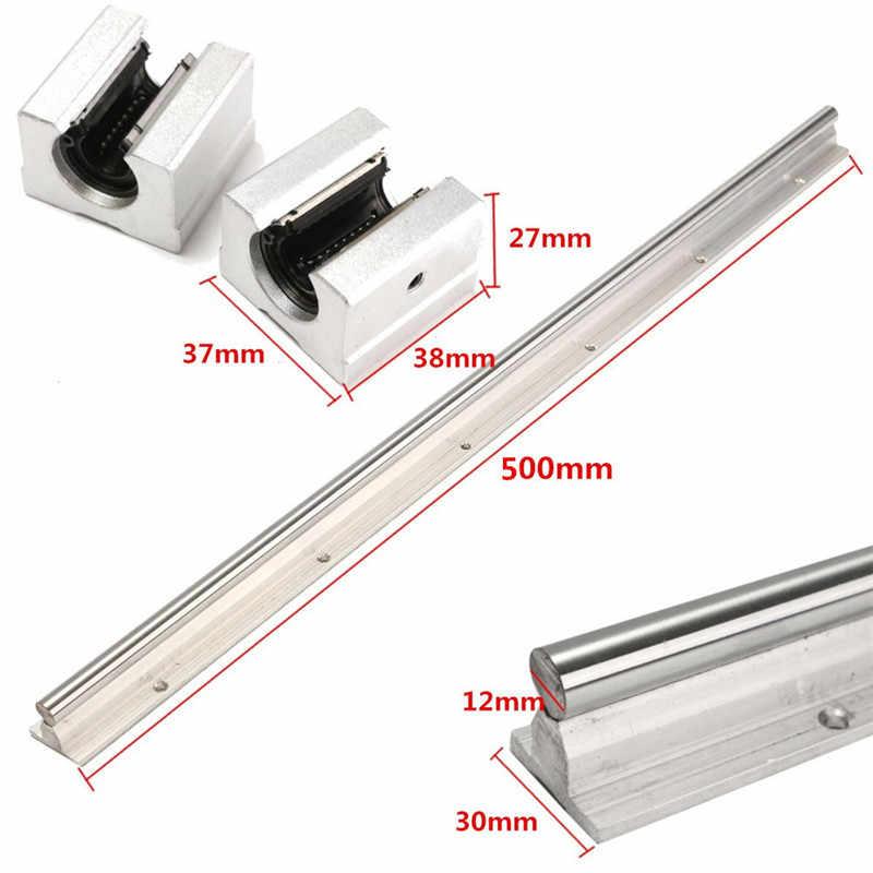 10 x SBR12-400 mm Liner Raill Support/&20 SBR12UU Block Bearing
