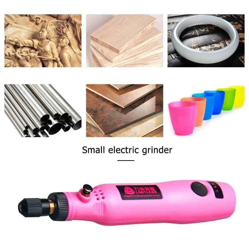 3,6 В Мини электрическая дрель usb зарядка шлифовальный станок комплект гравировки аксессуары с ручкой набор