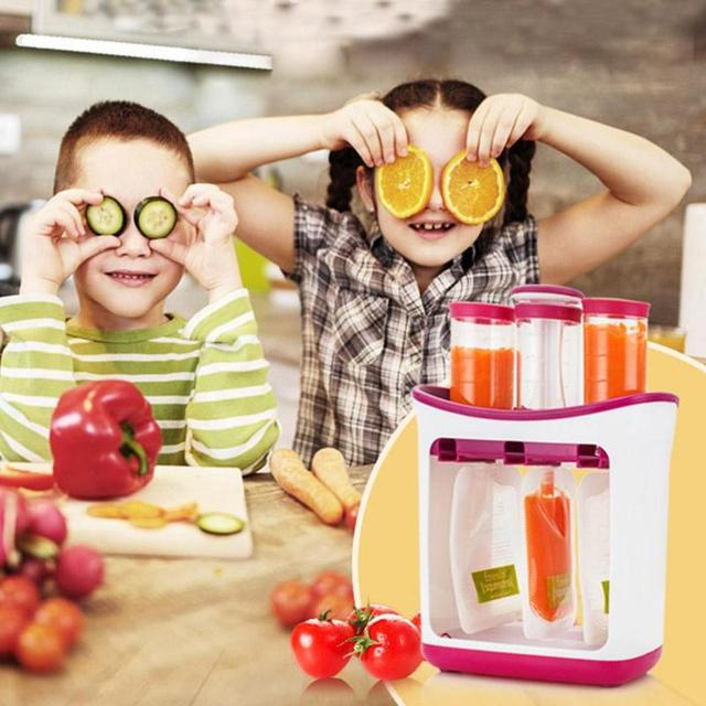 Organic Food Maker + Storage Insulation Bags Accessories Feeding For All (0-3 years) Kid (3+ years) Shop by Age