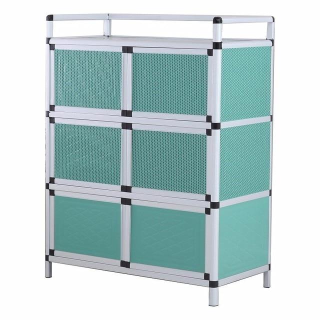 Sidebord Bestek Lade Sideboard For Room End Tables Mueble Cocina Meuble Buffet Aluminum Alloy Kitchen Furniture Cupboard