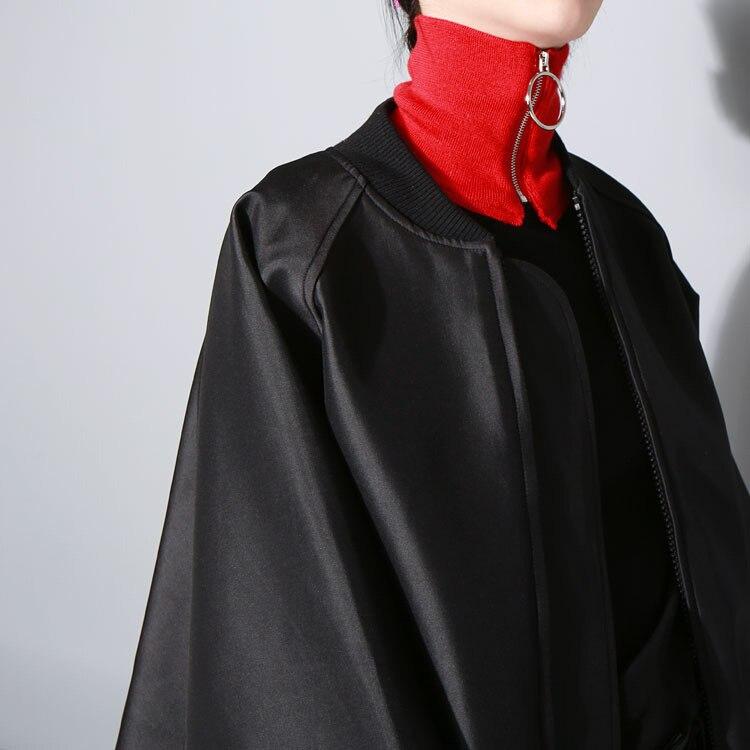 Harajuku Fashion Warm Ring Zipper Scarf Elegant Autumn Winter Solid Color Women Neckerchief