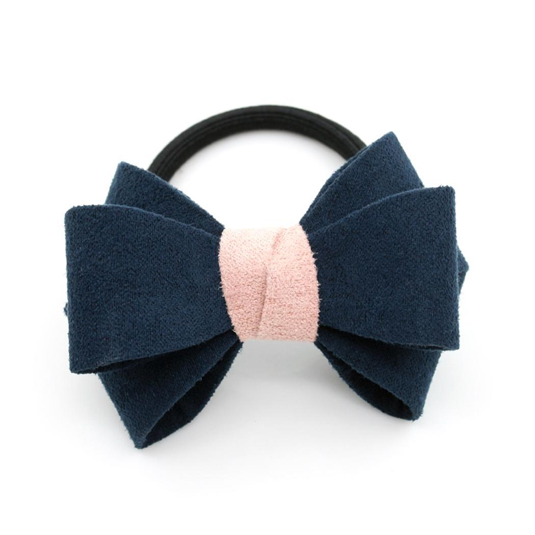 Of Casual Ponytail Contrast Available In Fashion Elastic Headband Variety Bow Rope 6cm Hair Color Colors Women Headwear Men's Headbands
