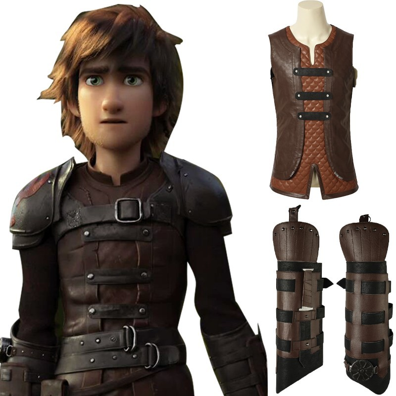 How To Train Your Dragon 3 Hiccup Cosplay Costume Custom Made Adult Costume
