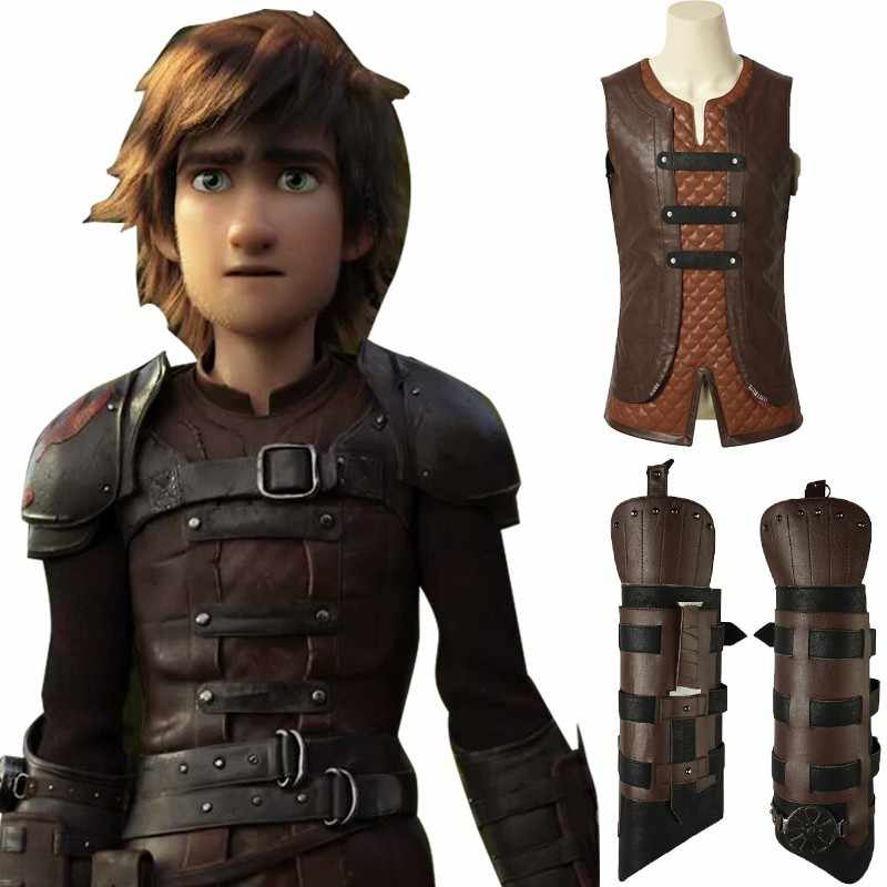 how to train your dragon 2 cosplay hiccup costume film carnival halloween custom made t shirt
