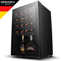 5 7 Layers Large capacity 28 red wine cabinets Constant Temperature Wine Refrigerator Commercial Bar Wine Cabinet Home Small Tea