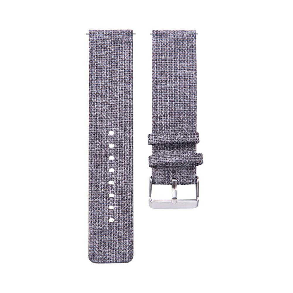 Image 3 - 20MM Universal Nylon Canvas Replacement Watch Band Wrist Straps Suitable Smart Watch Brand New And High Quality Comfortable-in Smart Accessories from Consumer Electronics