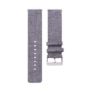 Image 3 - 20MM Universal Nylon Canvas Replacement Watch Band Wrist Straps Suitable Smart Watch Brand New And High Quality Comfortable