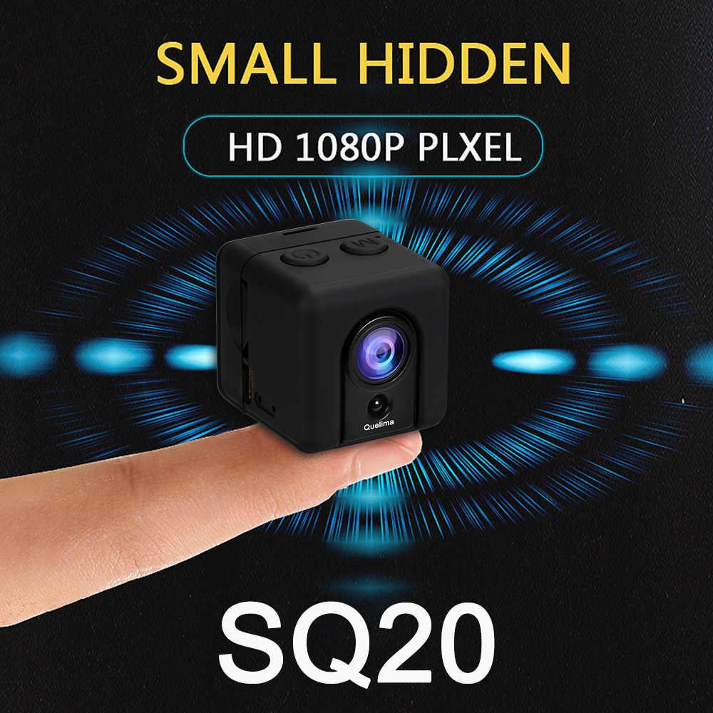 Kelima SQ20 мини камера Автомобильный видеорегистратор Скрытая камера Портативный 1080P Full HD Автомобильный видеорегистратор Камера 155 градусов водонепроницаемый корпус