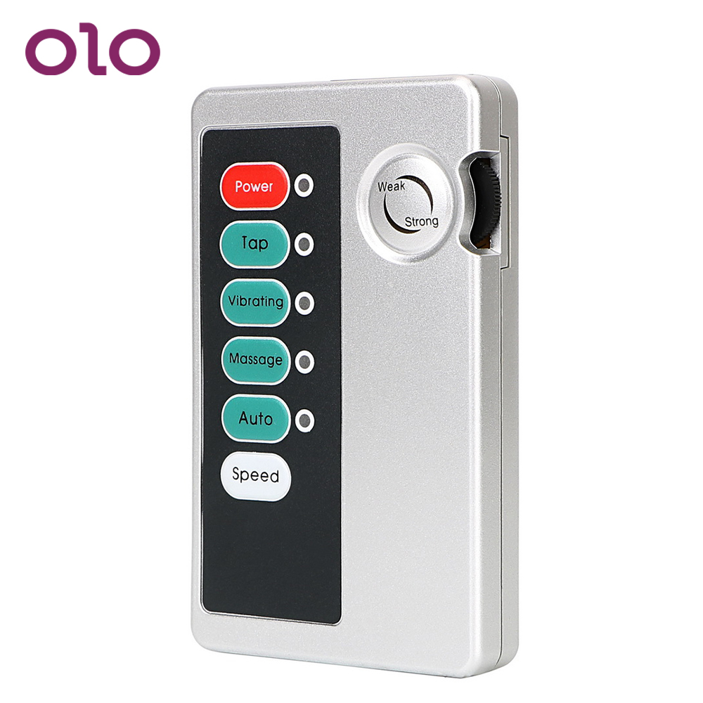 OLO Electric Shock SM Toys Electric Dual Output Host Pulse Massage Host Therapy Massager Accessory Electro Stimulation Couple