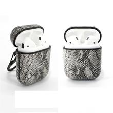 Leather Box Bluetooth Headset Cover For Airpods Apple Protection Case Business Wireless Earphone Earbuds Bag