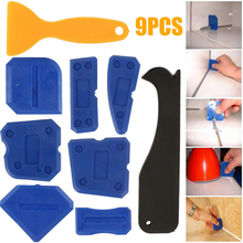 9 шт., полезный набор инструментов для чеканки, силиконовый герметик, скребок для скребка, эффективно удаляющий скребок для напольной плитки, очиститель краев