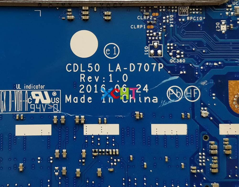 Image 5 - for HP Notebook 15 ay124TX 15 AY Series 903787 001 903787 601 w i7 7500U CPU R7M1 70/2GB CDL50 LA D707P Motherboard Tested-in Laptop Motherboard from Computer & Office