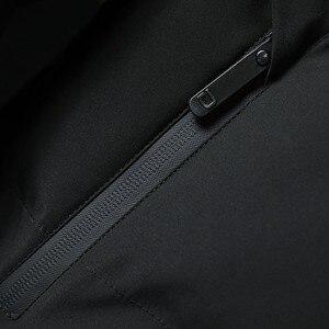 Image 5 - Varsanol Thick Parka Men Jacket Coat 2018 New Brand Hooded Cotton Parkas Men Solid Hooded Pocket  20 Degree Parka Men