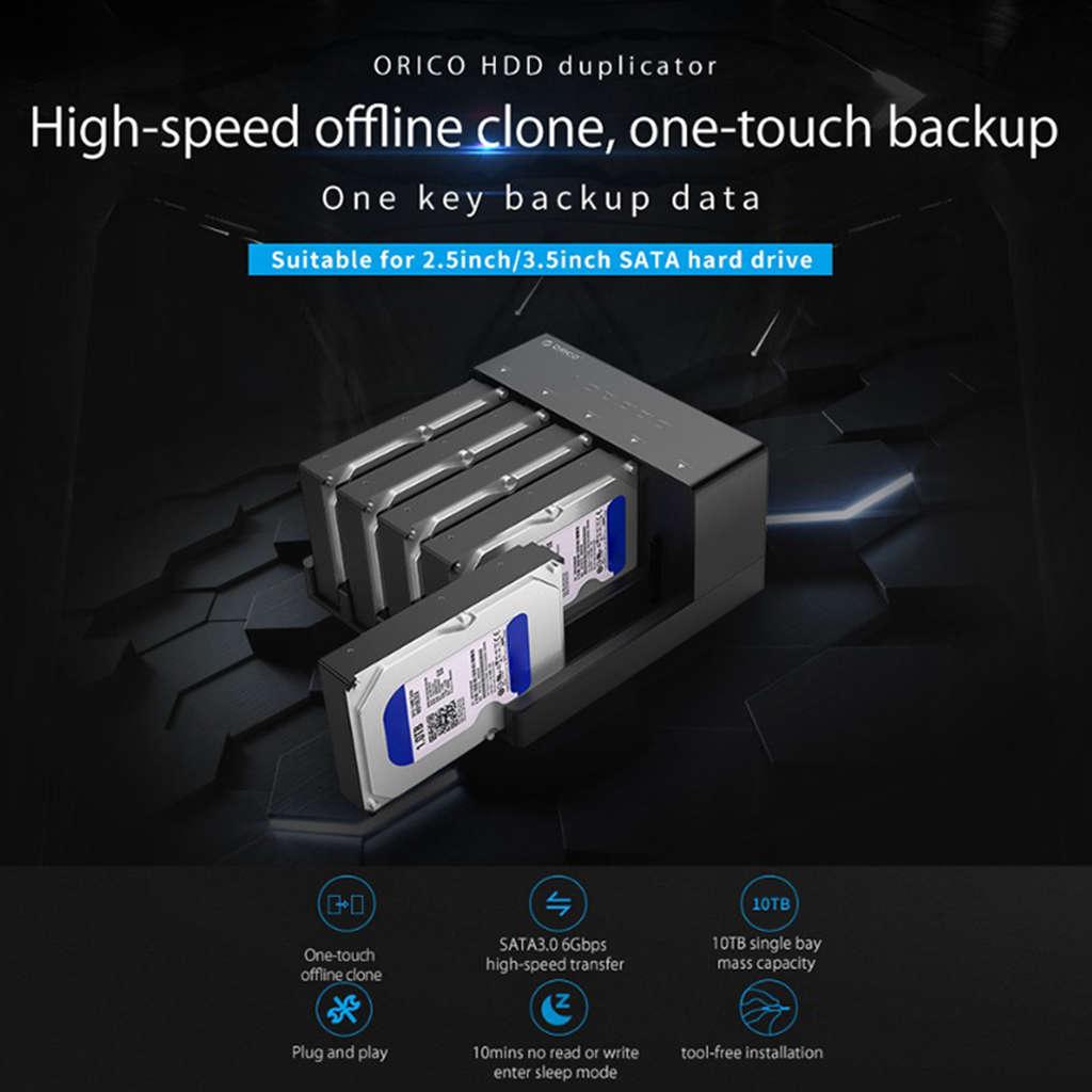 Orico 6558Us3 C 5 Bay Super Speed Usb 3.0 HDD Docking Station Werkzeug Kostenloser USB 3.0 Zu SATA Festplatte Gehäuse Fall Adapter - 6