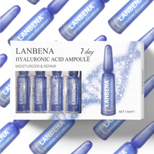 Lanbena Hyaluronic Acid Ampoule Serum Moisturizing Nourishing Easily Absorbed Anti-aging Firming Remove Wrinkles For 7 Days
