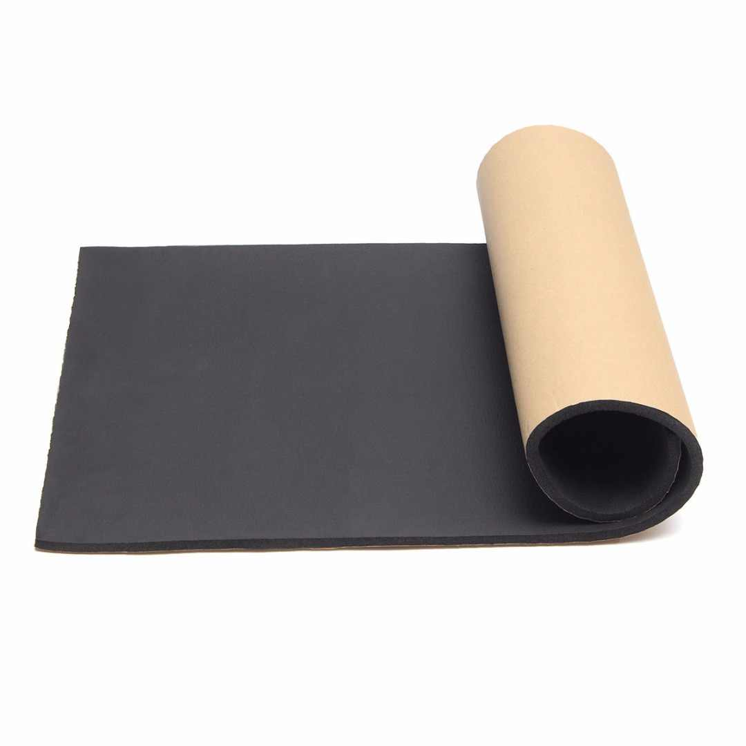 1 Roll 100*50CM Car Auto Sound Proofing Waterproof Thermal Insulation Pad  Closed Cell Foam Automobiles Interior Accessories