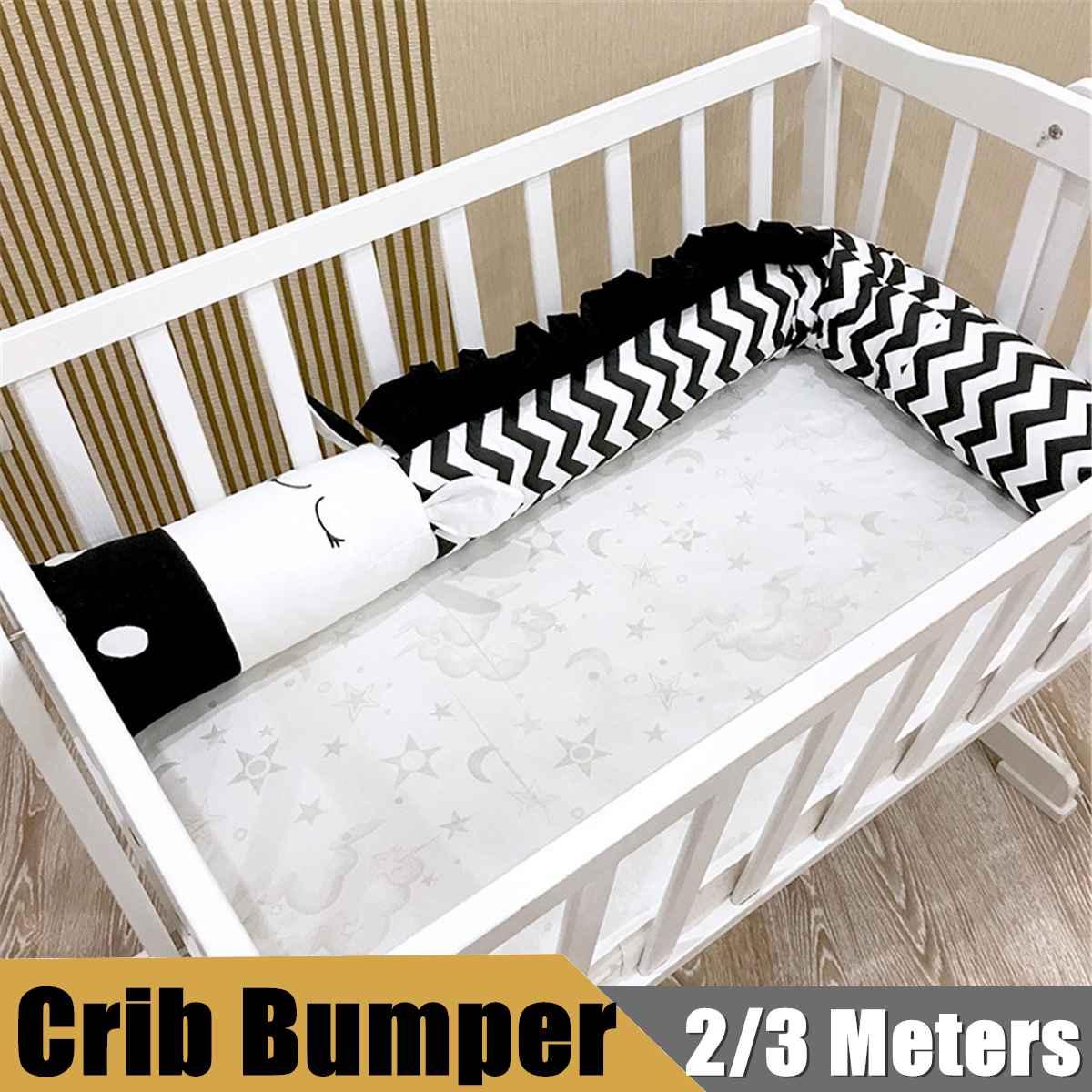 Zèbre bébé enfants lit berceau pare-chocs infantile Crocodile zèbre en forme d'oreiller coton coussin protecteur chambre décoration literie 2/3 mètres