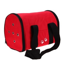 Practical Outdoor Foldable Waterproof Oxford Pet Bag Cat Dog Carrier Supplies Backpack Front Chest Sup