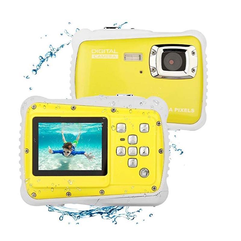 Enfants Cartton Mini appareil photo numérique 2 pouces 12MP HD 720 P Étanche caméscope portable enregistreur vidéo avec Microphone L'éducation Jouets - 3