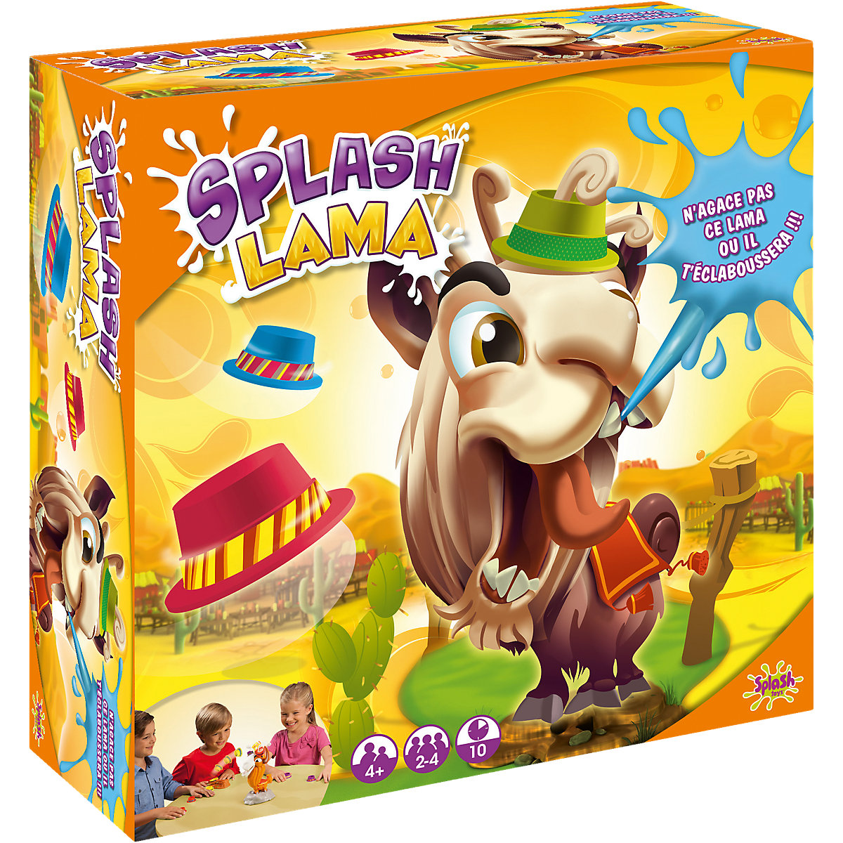 Splash Toys Party Games 4050205 board game fine skills for the company developing play girl boy friends card games moses 090066 fine motor skills board logic kids children