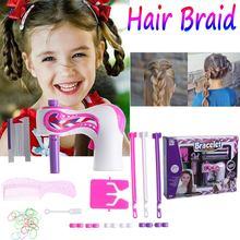 Electric Automatic Hair Braider DIY Stylish Braiding Hairstyle Tool twist braider Machine Hair braid Weave Roller Twist For Girl