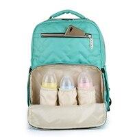 New Mummy Baby Backpack Travel Storage Bottle Changing Wet Diaper Stroller Baby Care Bag Baby Stuff Bolsa Mochila Maternidade
