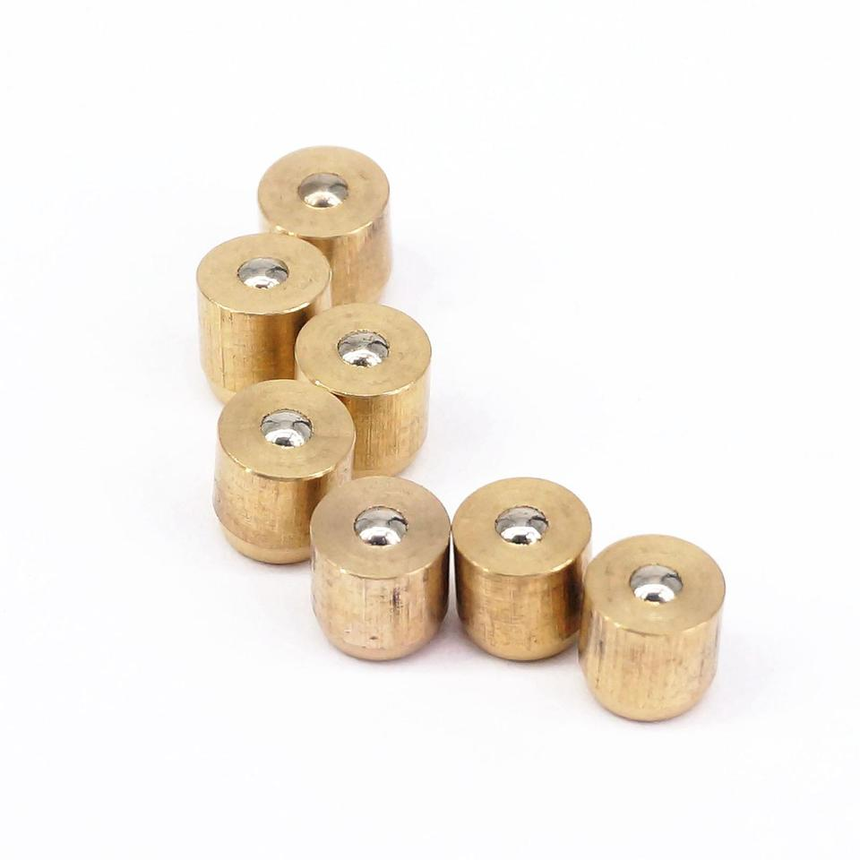 Size: 8x10mm KTS LOT 20 Brass Push Button Oiler Press fit Ball Oiler for Gas Engine Motor Hit/&Miss Oil Grease 8x10mm 8x10mm
