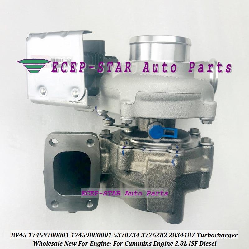 Turbo BV45 17459700001 17459880001 1745-970-0001 5370734 3776282 2834187 Turbina Turbocompressore Per Cummins Motore 2.8L ISF Diesel