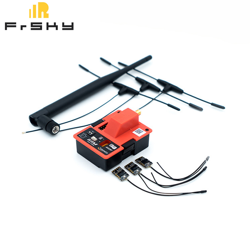 FrSky R9M 900MHz Long Range Transmitter Module & 3X R9 MM 4/16CH Receiver W/ R9MM T Antenna Combo For RC Model Multicopter