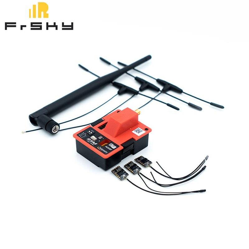 Module émetteur longue portée FrSky R9M 900 MHz et récepteur 3X R9 MM 4/16CH avec antenne R9MM T Combo pour modèle Multicopter RC