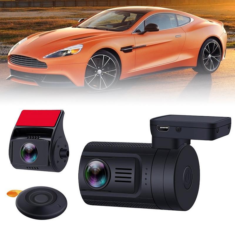 Nouvelle voiture enregistreur de conduite double caméra arrière caméra tableau de bord voiture DVR 1080 P WDR Full HD TFT écran voiture caméra Dash Cam livraison directe