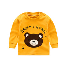 2019 new autumn baby girl clothes childrens unicorn  t shirt long sleeve kids clothing shirts boys