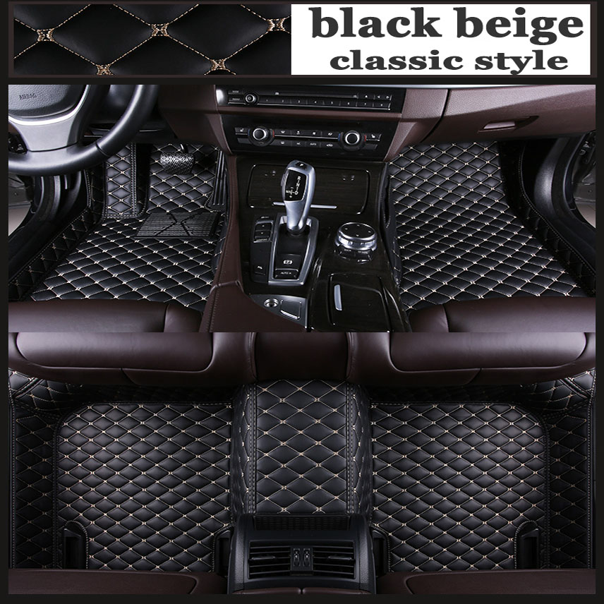 ZHAOYANHUA Custom car floor mats for <font><b>Mercedes</b></font> Benz S class W220 W221 <font><b>W140</b></font> W108 W109 W111 W112 W116 W126 2 tyling carpet floor image