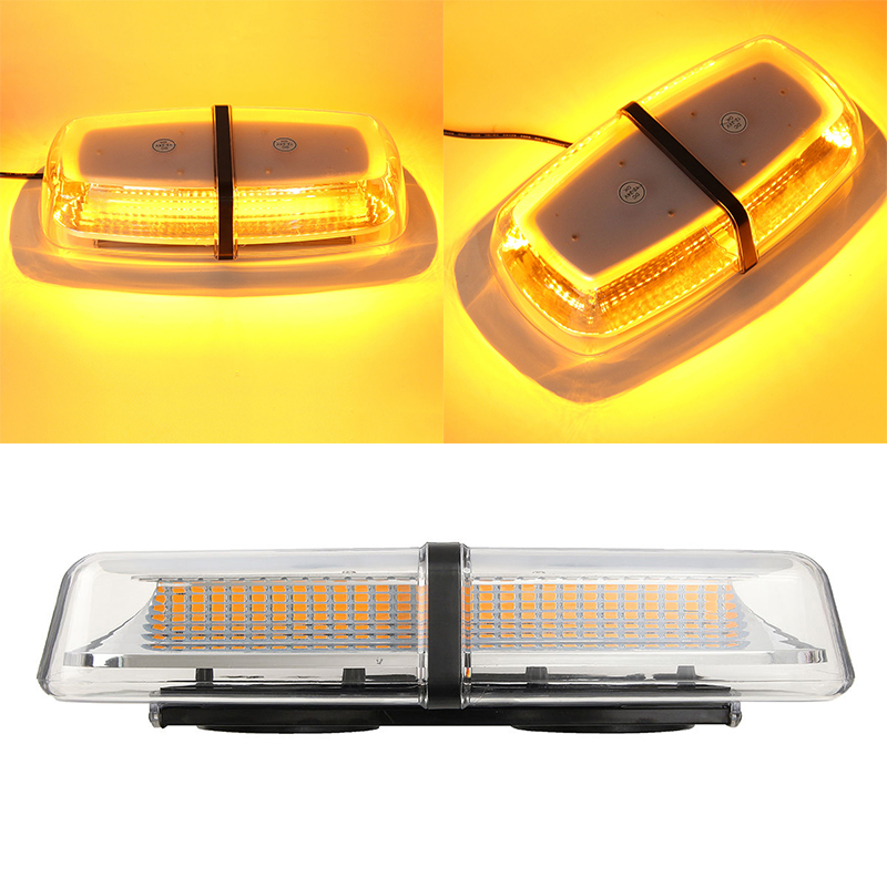 Newest 72LED Car Truck Roof Top Emergency Warning Flashing Strobe Light Amber