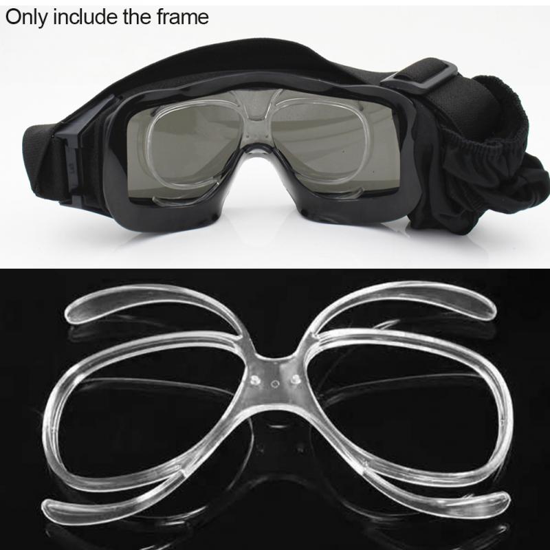 Ski Goggles Glasses Myopia Frame Skiing Snowboard Goggles Myopia Lens Frame Sunglasses Adapter Myopia Inline Frame