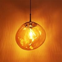 Modern 7 Color LED Pendant Lights Pendant Lamp Lava Tom Dixon Glass Hanging Lamps Hanging Lamp Bedroom Kitchen Fixtures Lighting