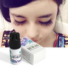 5ml Eyelash Glue Hypo allergenic Non irritating Odorless Fast Drying Eyelash Extension Glue For Beauty Gift