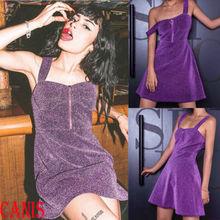 Hirigin Sexy Women Bandage Bodycon Sling Evening Short Mini Dress Party Club Boohoo