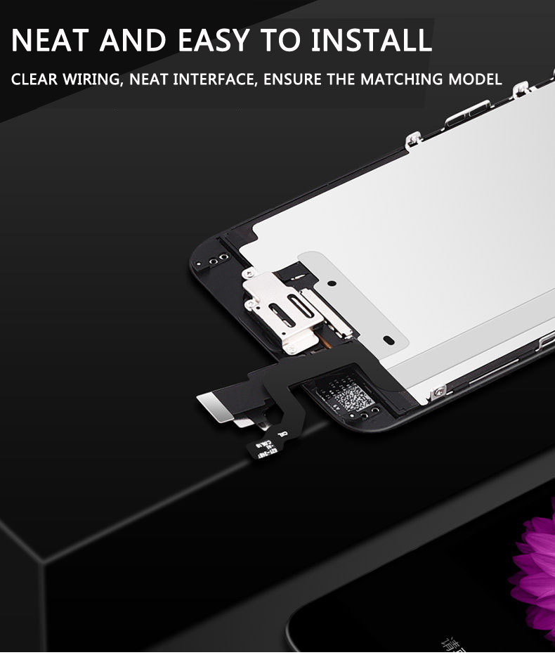 For IPhone6 6plus 6s 6splus AAAAA LCD mobile phone screen display assembly including mail repair tools in Mobile Phone LCD Screens from Cellphones Telecommunications