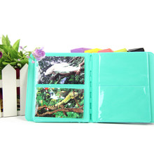 64 Pockets 3 Inch Photo Album Photo Storage Book Case for Fujifilm Instax Mini LOMO Sofort (Mint Green)(China)