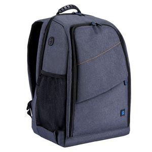 Image 5 - PULUZ borsa da esterno portatile impermeabile antigraffio a doppia spalla zaino accessori per fotocamera borsa per foto digitale DSLR