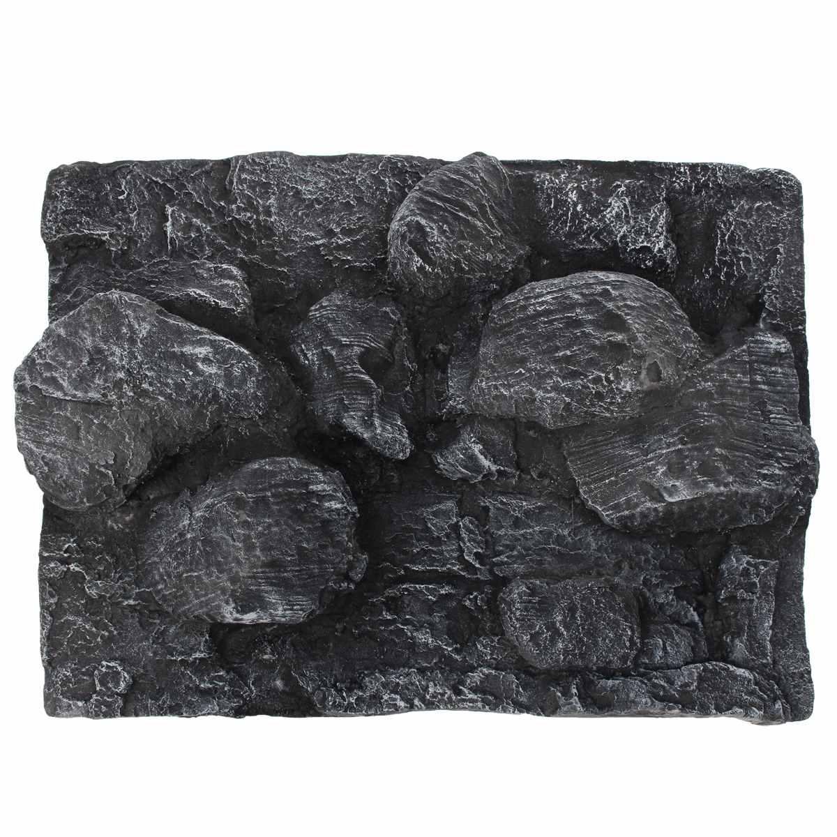 60X45X13 cm Reptiles grand 3D pierre roche Aquarium fond PU conseil poisson réservoir toile de fond planche plaque aquatique mur décorations
